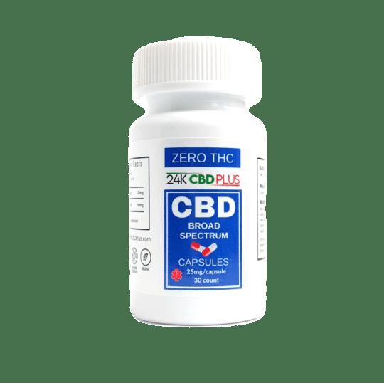 Broad Spectrum CBD Capsules