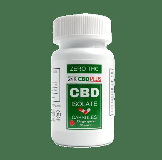 CBD Isolate Capsules